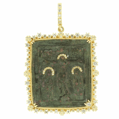 Ancient Crucifixion Icon