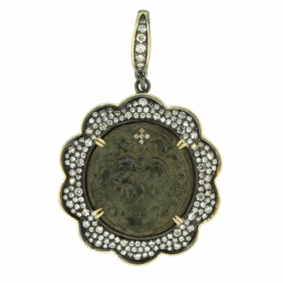 17th Century Sacred Heart Medal