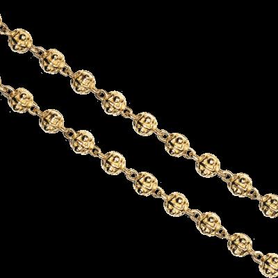 """17"""" Gold Ball Chain"""