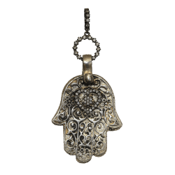 17th Century Silver Bell with Cross | LaNae Fine Jewelry