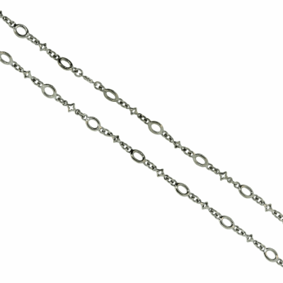 18-20'' Oval and Tiny Star Link Trip Chain