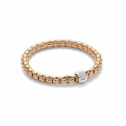 Closeup photo of Eka Flex'it 18k Gold Diamond Bracelet - 701B BBRM