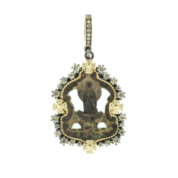 Ancient Mary Medal Pendant