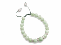New World Green Moonstone Bracelet