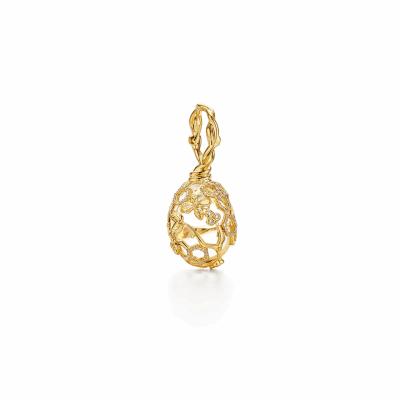 18k Beehive Amulet - Medium