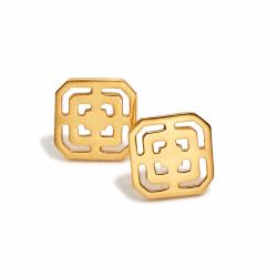 Closeup photo of Geneva Stud Gold
