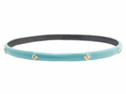 18k Yellow Gold Bangle - 14215