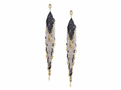 18k Yellow Gold Earring - 14624