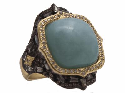 18k Yellow Gold Ring - 14169