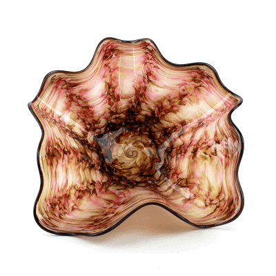 View image 2 for Pink Algae Glass Bowl