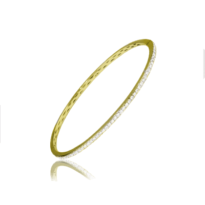 Thin Gold Mine Bracelet