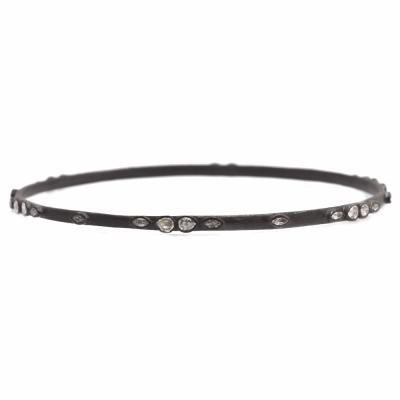 Lacy Sapphire Bangle Bracelet