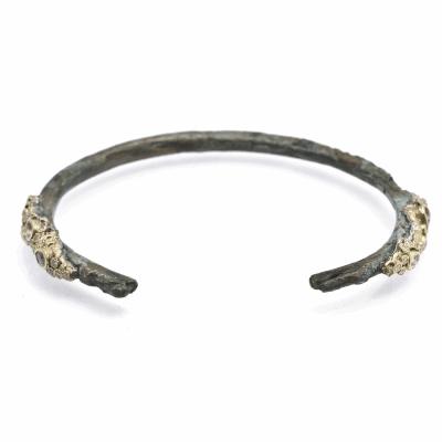 Lacy Dragon-Tipped Artifact Cuff Bracelet