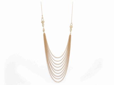 Sueno multi-strand duster necklace
