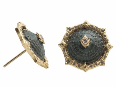 18k Yellow Gold Ring - 13585