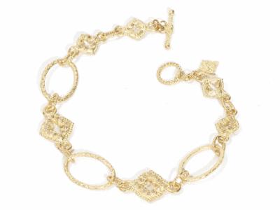 Champagne Diamond Bracelet - 06844