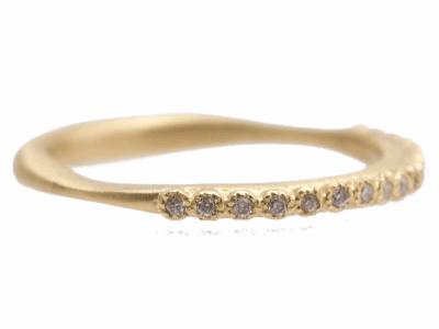 18k Yellow Gold Ring - 10381