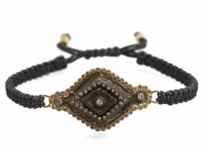 18k Yellow Gold Bracelet - 10595