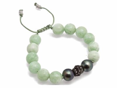 Oxidized Sterling Silver Bracelet - 10811.0