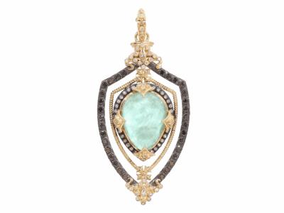 Green Turquoise Diamonds - 02714