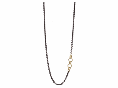 Sterling Silver Necklace - 13636