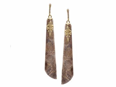 Sterling Silver Earring- 13382