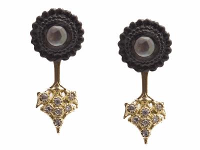 Sterling Silver Earring - 13686
