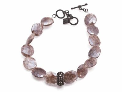 Champagne Diamond Bracelet - 13849
