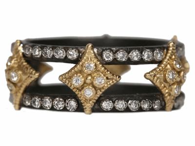 Champagne Diamond Ring - 34770