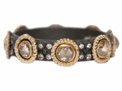 Champagne Diamond Ring - 04819