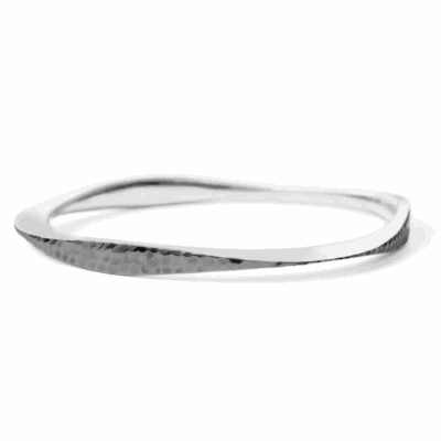 Silver Tri Bangle