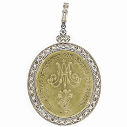 Daughters of Mary Spanish Medal Pendant