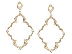 18k Yellow Gold Earring - 05868