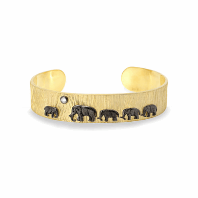 14k Tsavo Nights Trail Cuff