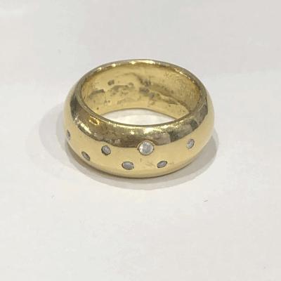 Smooth Diamond Galaxy Ring
